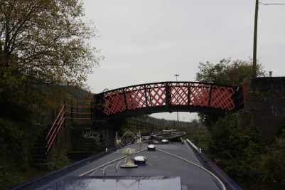 The Ashton Canal, overall, is a bit grim, but theres some little gems - like this painted bridge...
