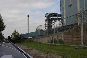 Just part of the huge chemical works flanking the canal..