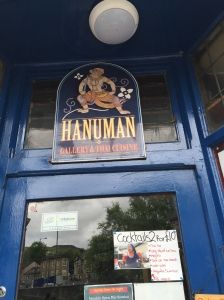 Hound-friendly thai restaurant - Todmorden is welcoming place :-)