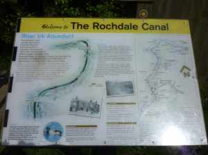There are some great, and non-vandalised, information boards along the canal - we have to be grateful that the Rochdale was restored...