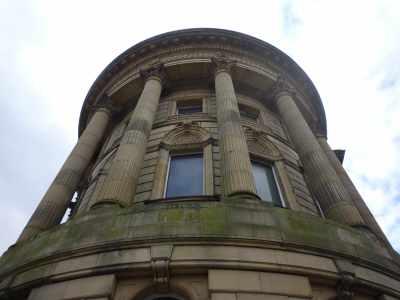 Grand facade...