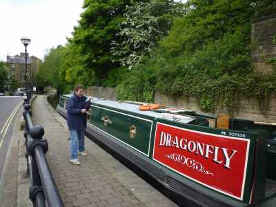 nb Dragonfly - our first taste of ownership - but it wasn't long before we wanted more than 3 weeks of boating per year!