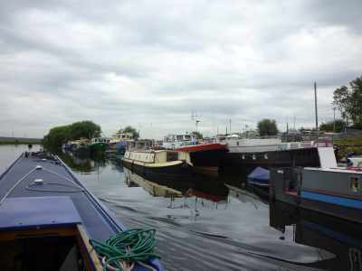 Where the big boats live - sh a change in scale after the Calder and Hebble...