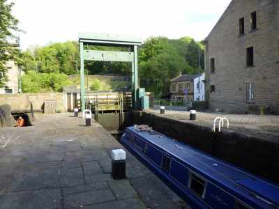 Gullotine lock at Todmorden...