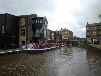 One of Skipton's canalscapes...