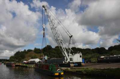 A new fairground attraction for canals?? :-)