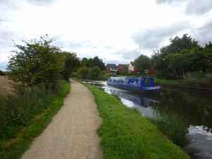 Heading out of Burscough...