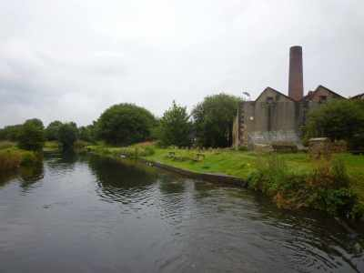 The mooring platform at Church - it doesn't look too promisng but we had a peaceful night there...