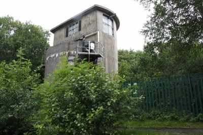 There's a story behind this structure - now abandoned and overgrown - I can't recall what it is though :-p