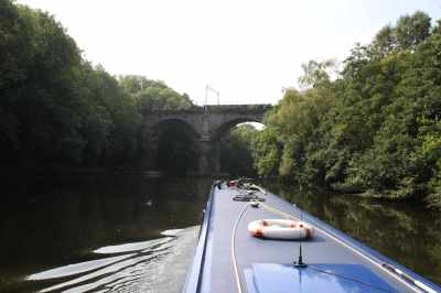 River Weaver view - so lovely and a great introduction to river cruising if you've never tried it...