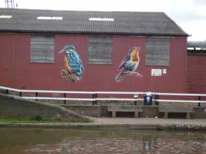 Murals at Fazeley Junction