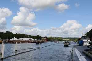One photo can't do justice to the sheer scale of the historis boat festival in Henley...