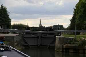 Almost there - St John's lock just downstream of Lechlade...