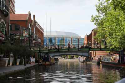 Brindley Place...