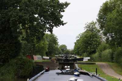 It's a lot of locks - to think that we usually do Cape, Hatton and Lapworth in a single day!