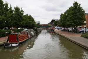 Banbury's busy waterfront...