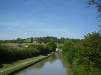 The vew towards Napton bottom...